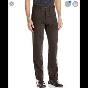 ❤️ Kenneth Cole straight leg brown classic pants